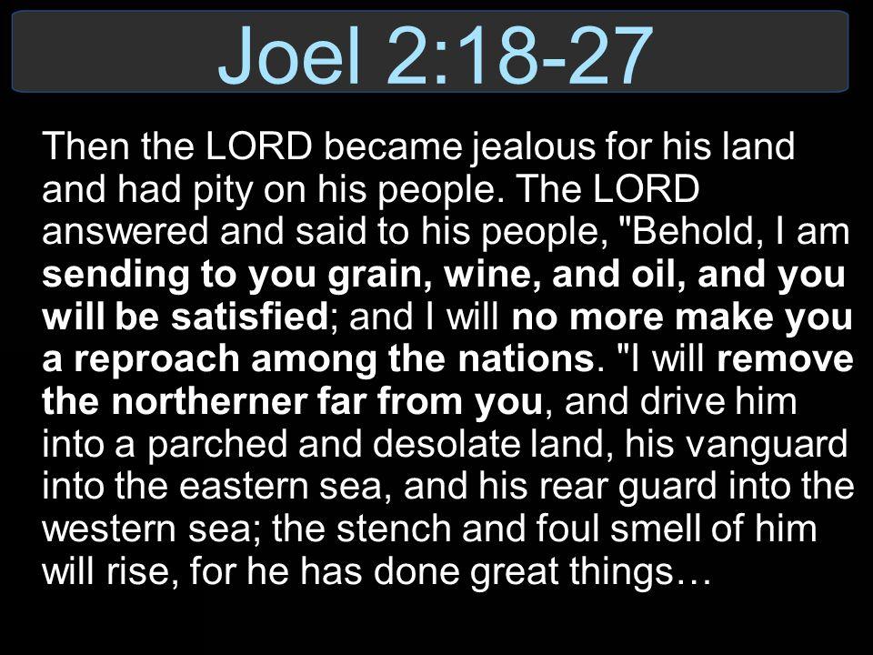 Joel 2:18-27