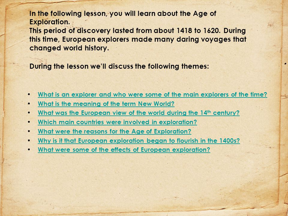 The World Made New Why The Age Of Exploration Happened: The Age Of Exploration 1400s The Discovery Of The New