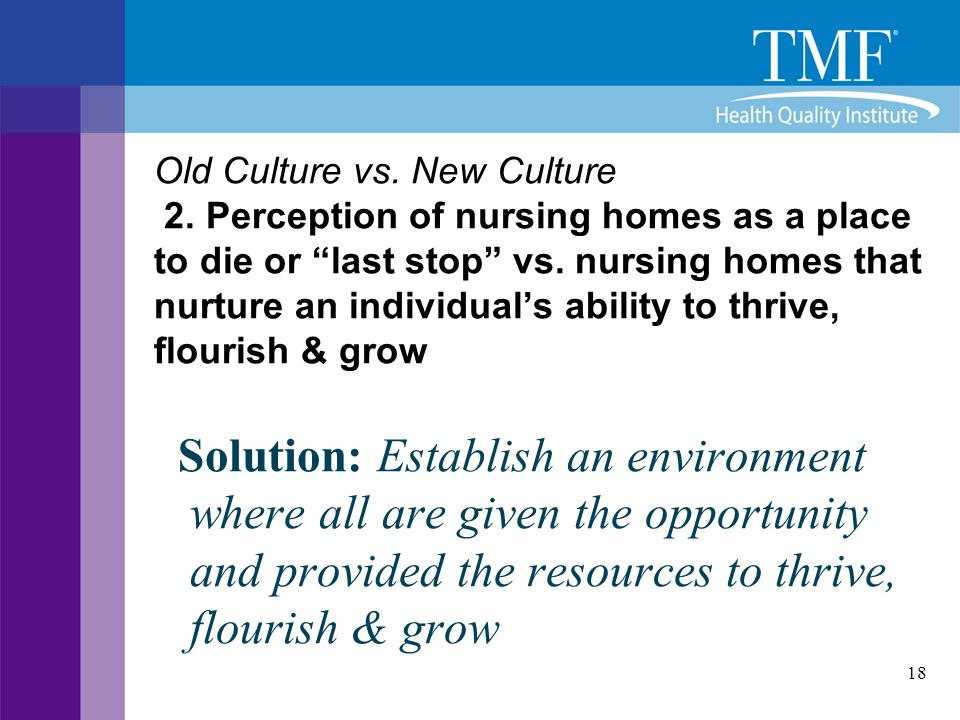 Old Culture vs. New Culture 2