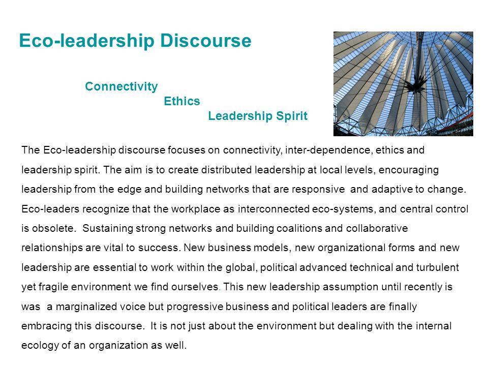 Eco-leadership Discourse
