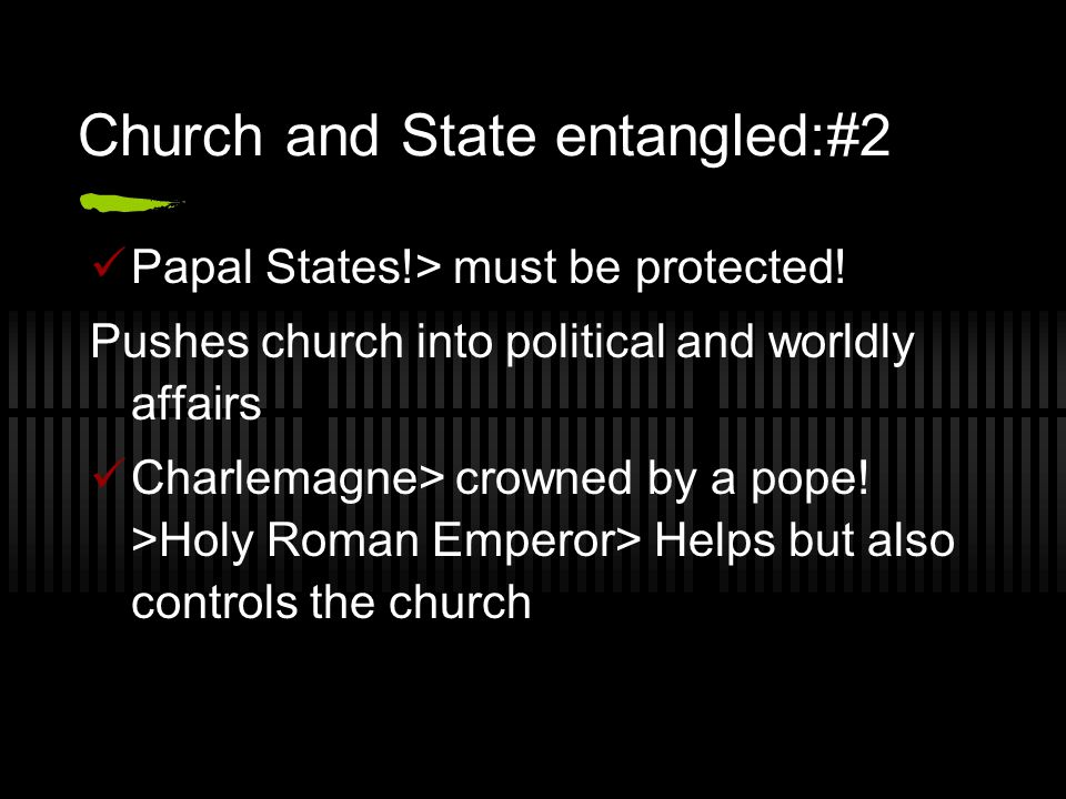 Church and State entangled:#2
