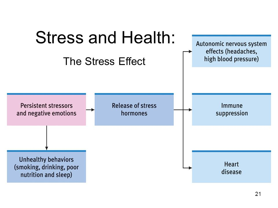 Stress and Health: The Stress Effect