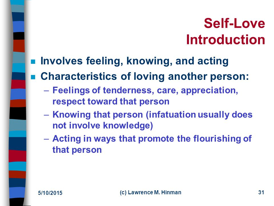 Self-Love Introduction