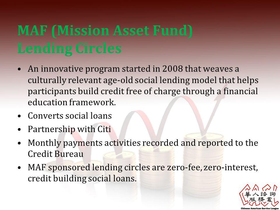 MAF (Mission Asset Fund) Lending Circles