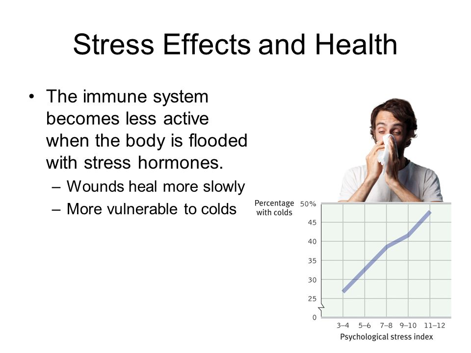 Stress Effects and Health