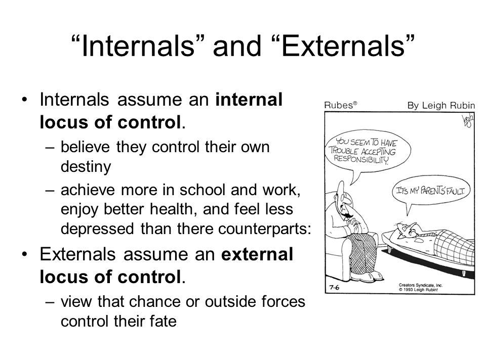 Internals and Externals