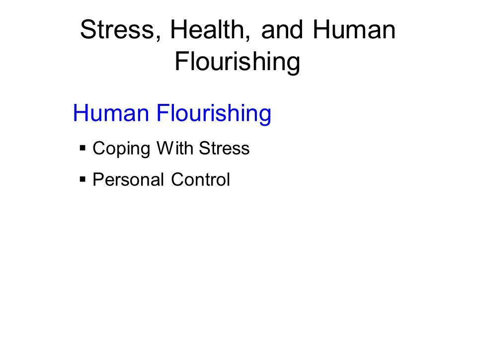 Stress, Health, and Human Flourishing