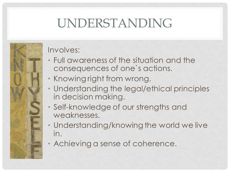 Understanding Involves: