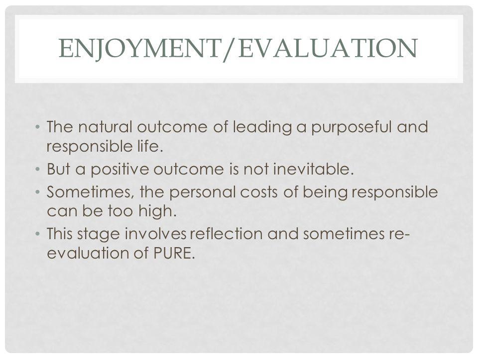 Enjoyment/Evaluation
