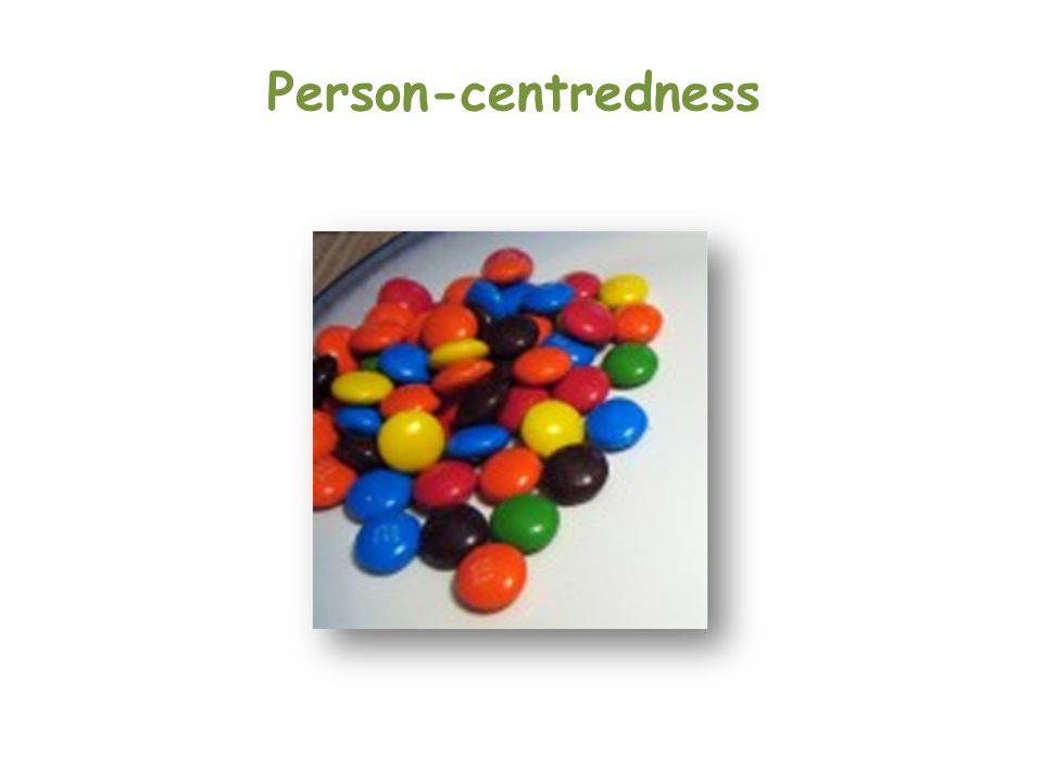 Person-centredness