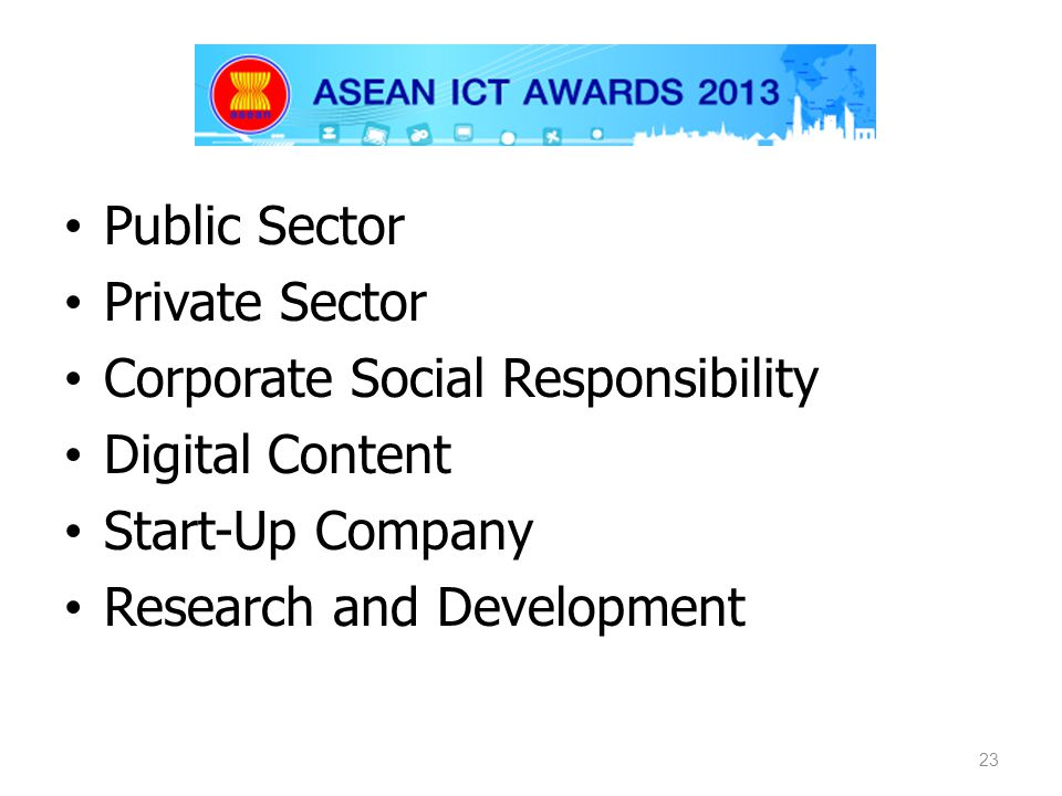 Public Sector Private Sector. Corporate Social Responsibility. Digital Content. Start-Up Company.