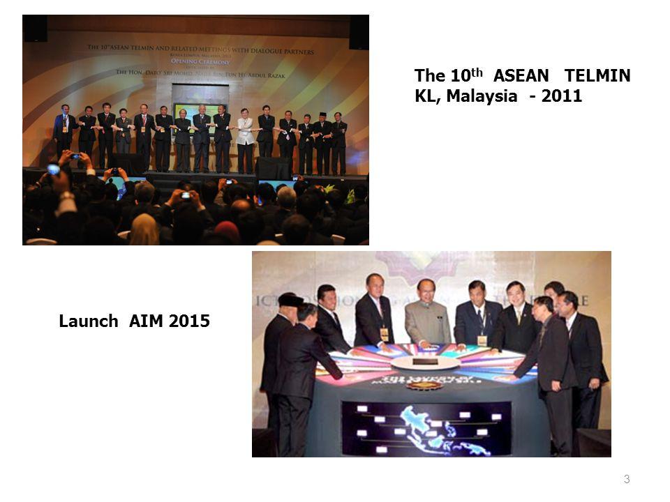 The 10th ASEAN TELMIN KL, Malaysia - 2011