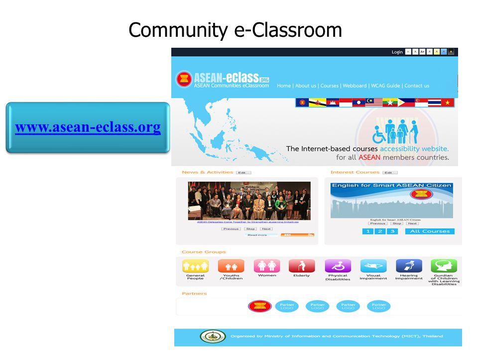 Community e-Classroom
