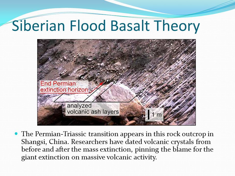 Siberian Flood Basalt Theory