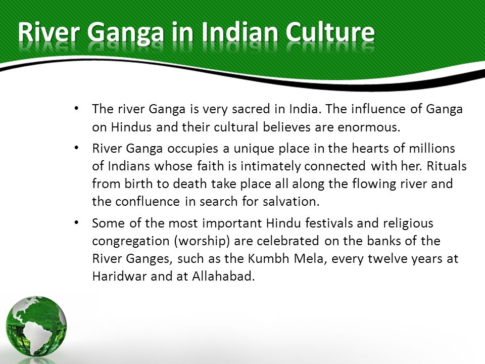 River Ganga in Indian Culture