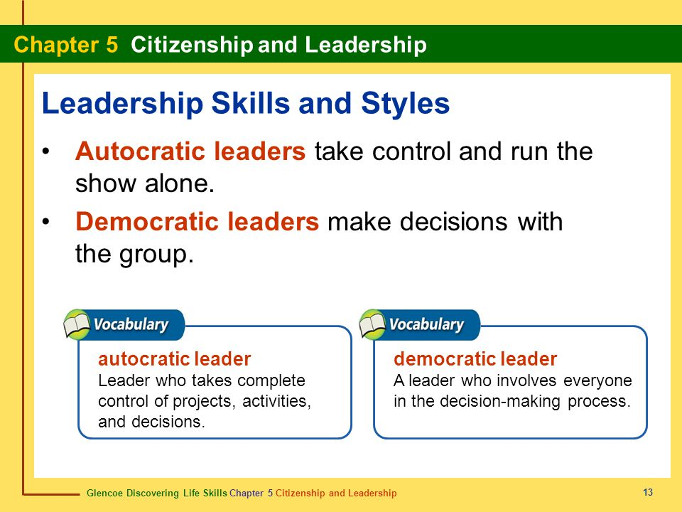 Leadership Skills and Styles