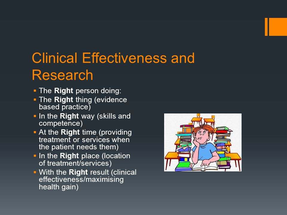 Clinical Effectiveness and Research