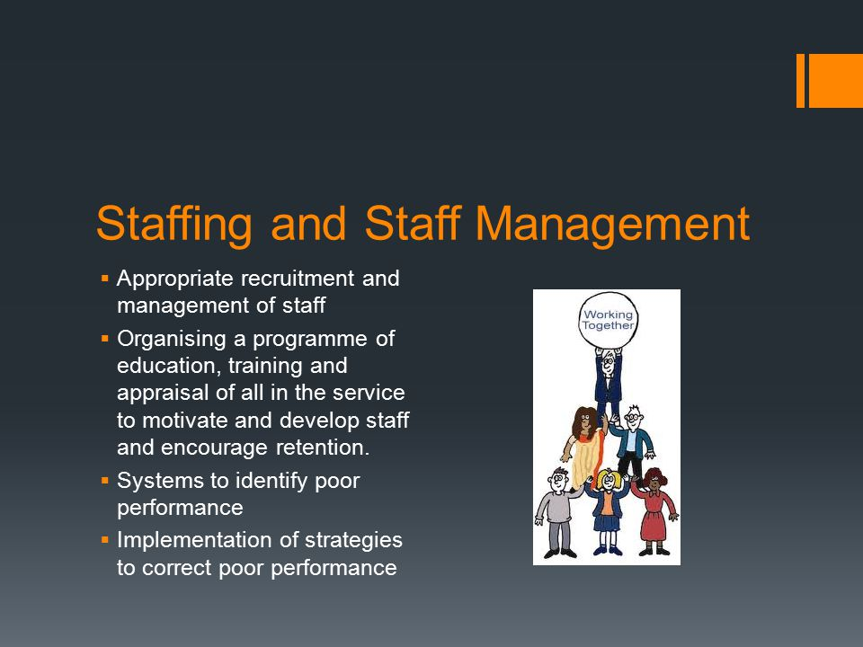 Staffing and Staff Management