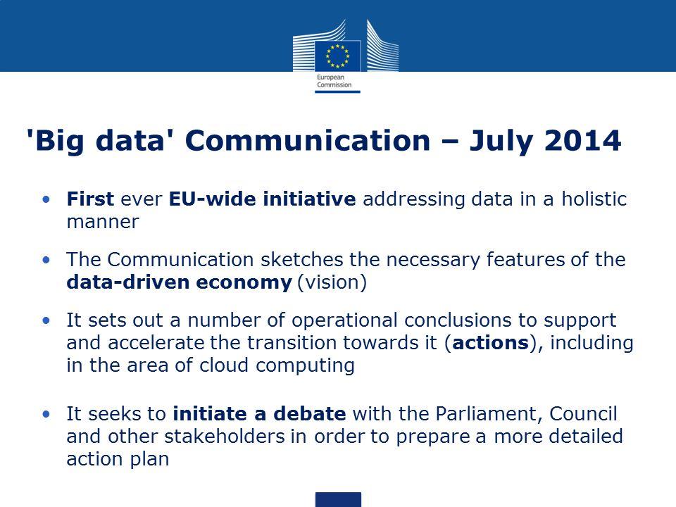 Big data Communication – July 2014