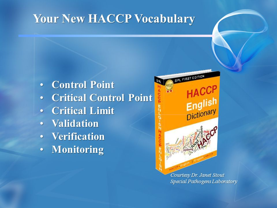 Your New HACCP Vocabulary