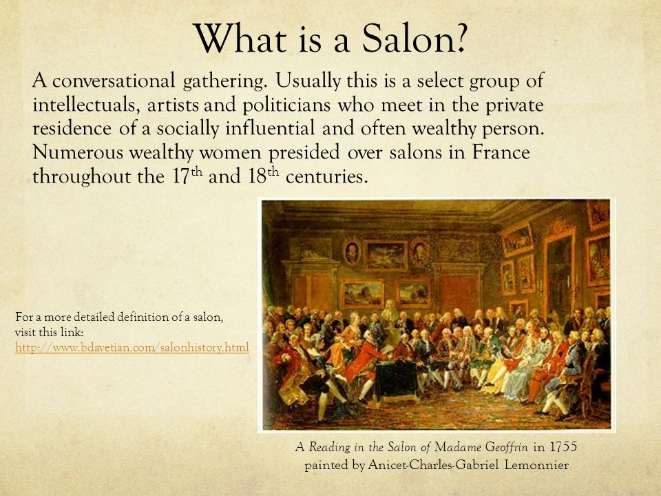 What is a Salon