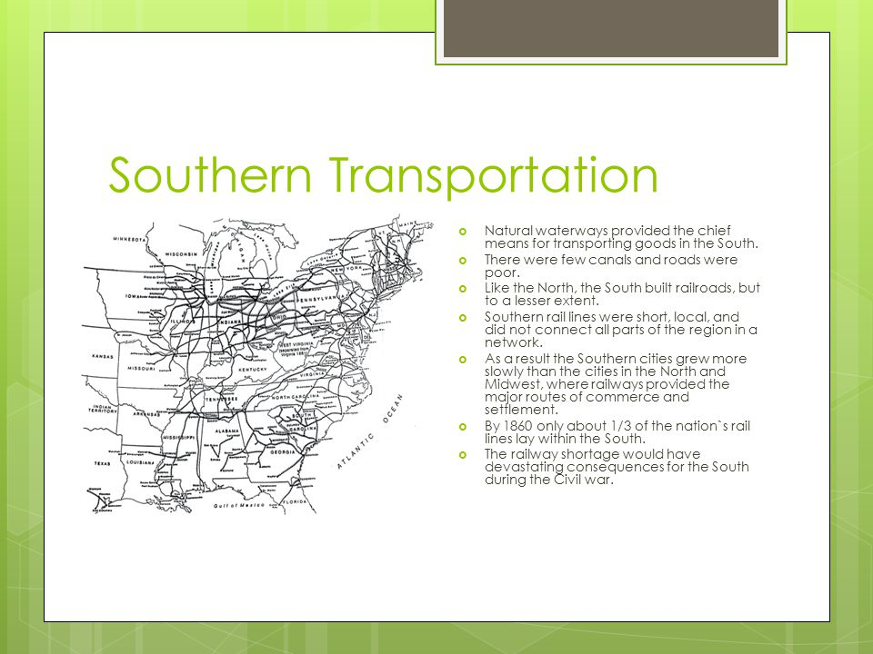 Southern Transportation