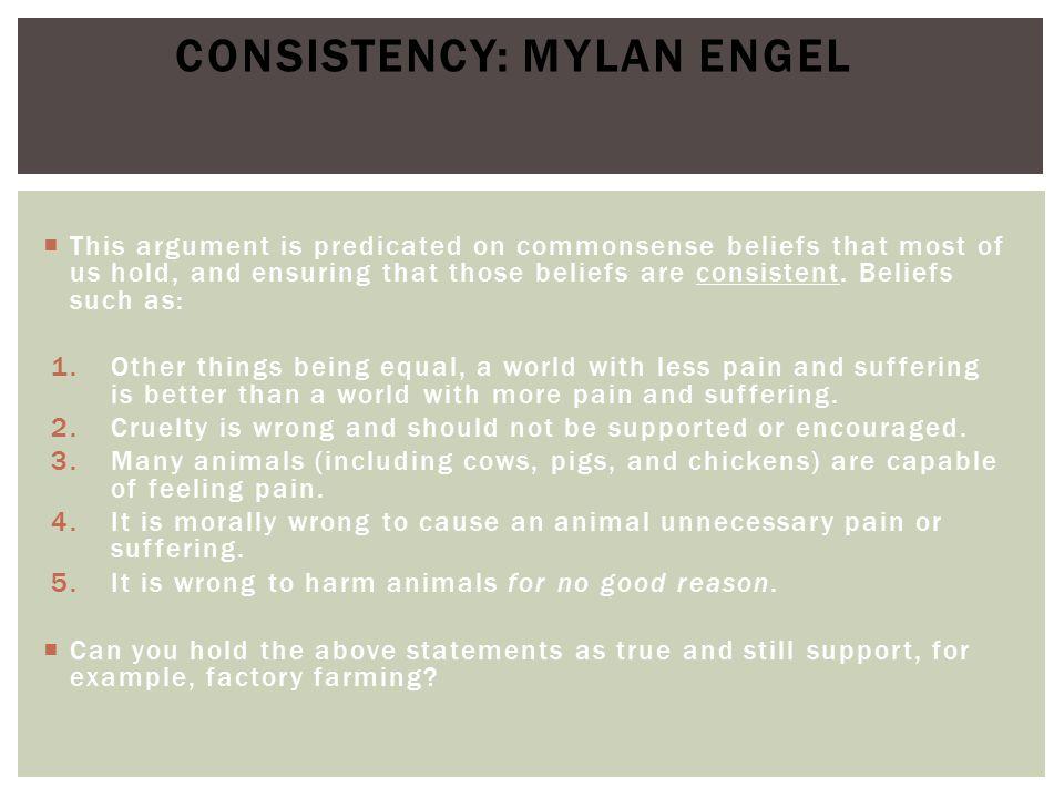 Consistency: Mylan Engel
