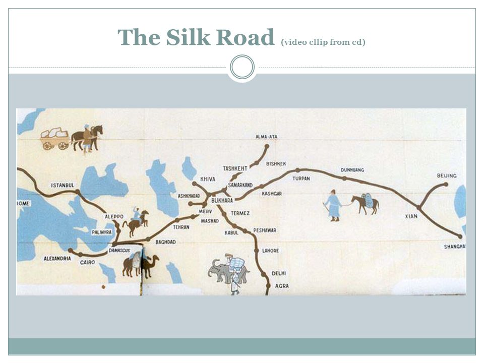 The Silk Road (video cllip from cd)
