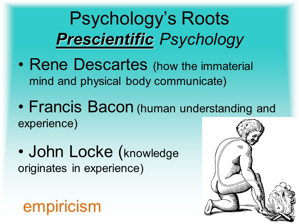 Psychology's Roots Prescientific Psychology