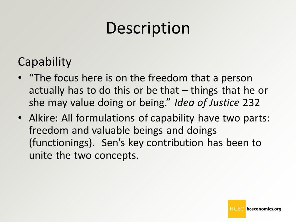 Description Capability