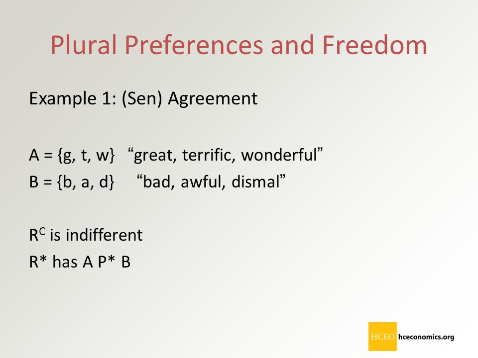 Plural Preferences and Freedom