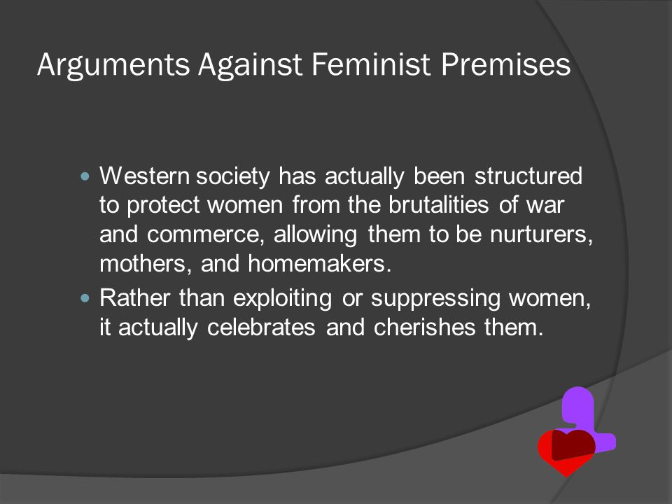 Arguments Against Feminist Premises
