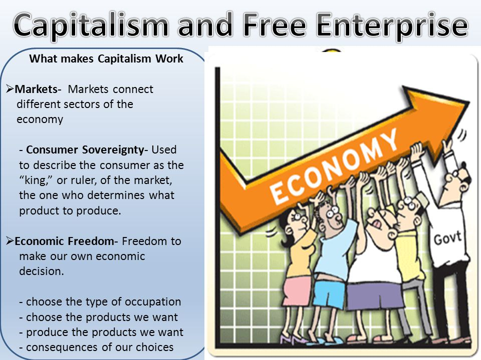 Capitalism and Free Enterprise What makes Capitalism Work
