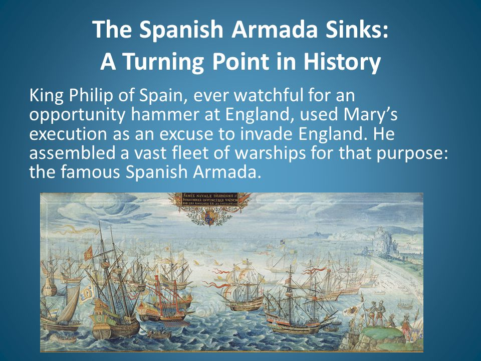 The Spanish Armada Sinks: A Turning Point in History
