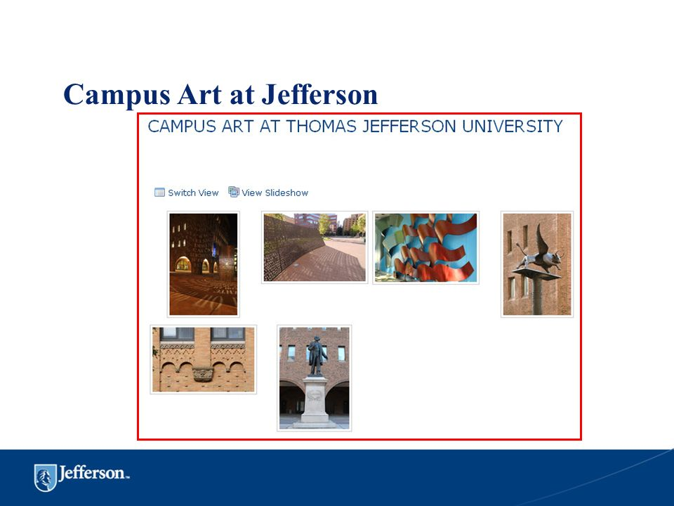 Campus Art at Jefferson