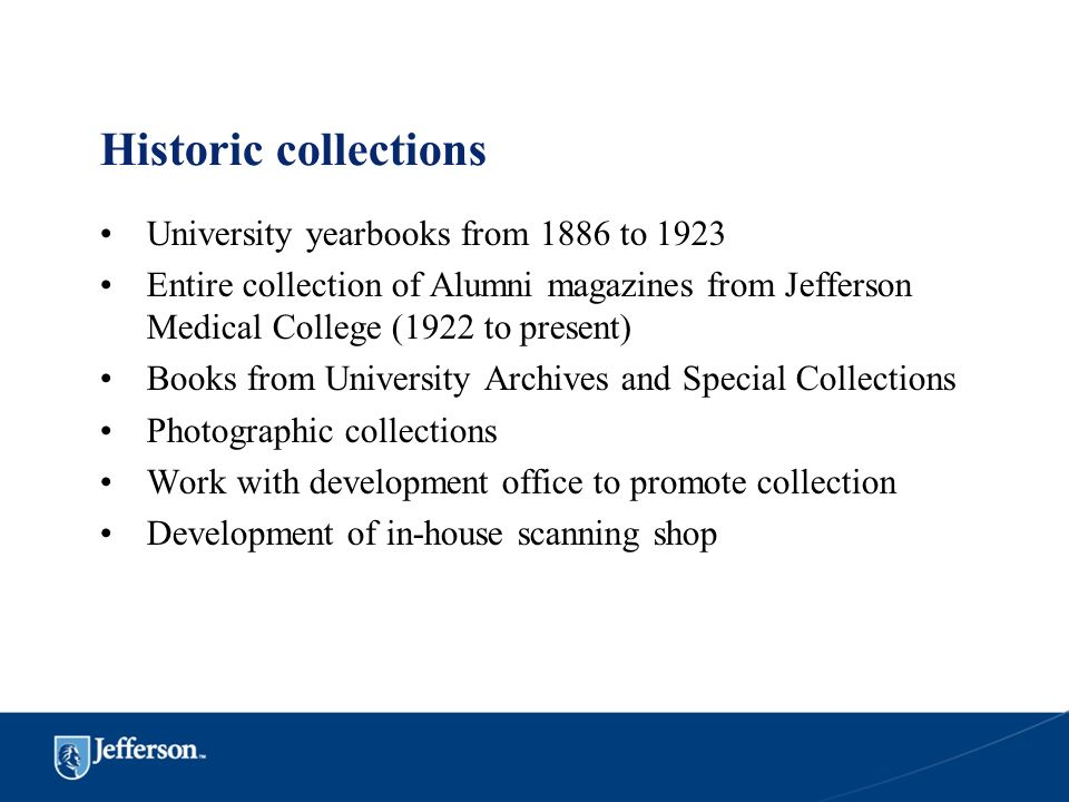 Historic collections University yearbooks from 1886 to 1923