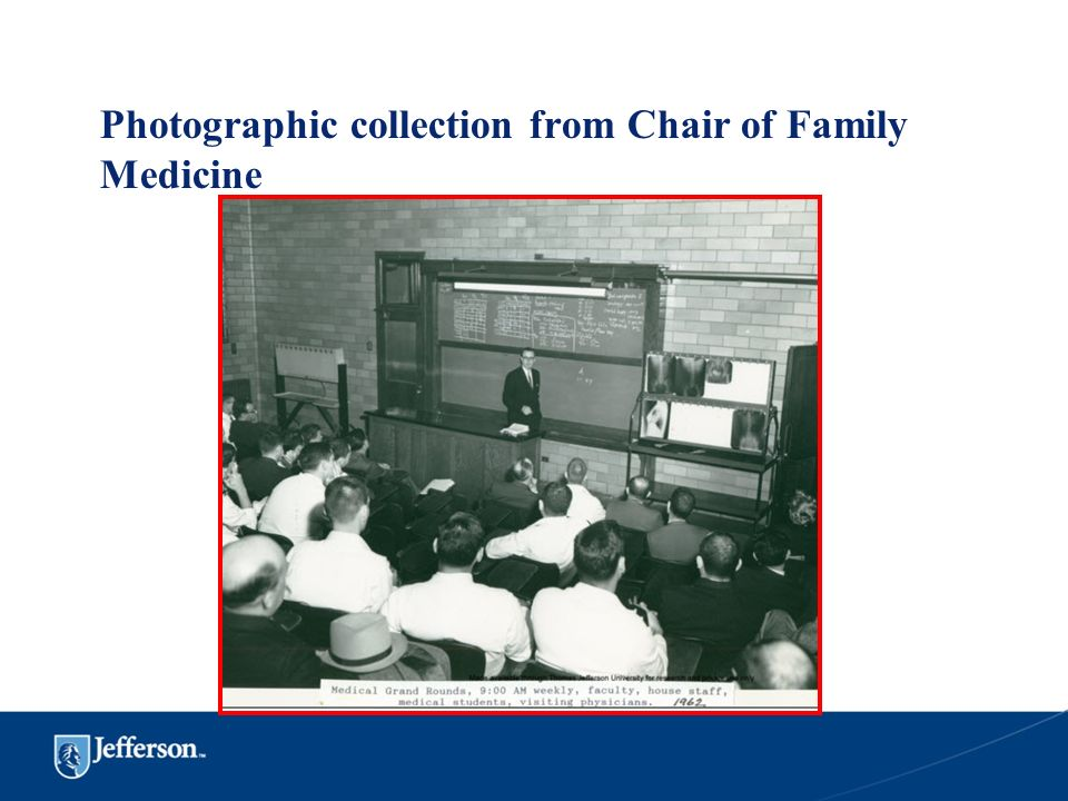 Photographic collection from Chair of Family Medicine