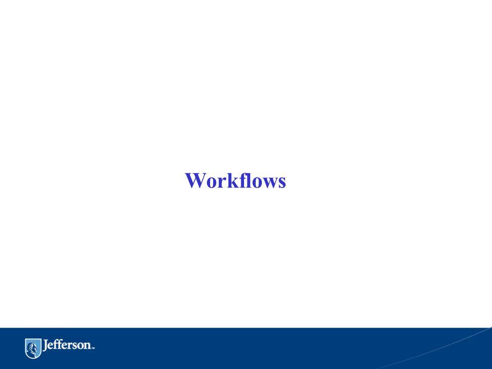 Workflows