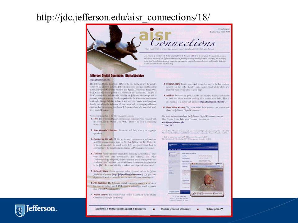 http://jdc.jefferson.edu/aisr_connections/18/