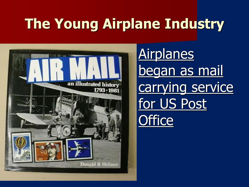 The Young Airplane Industry