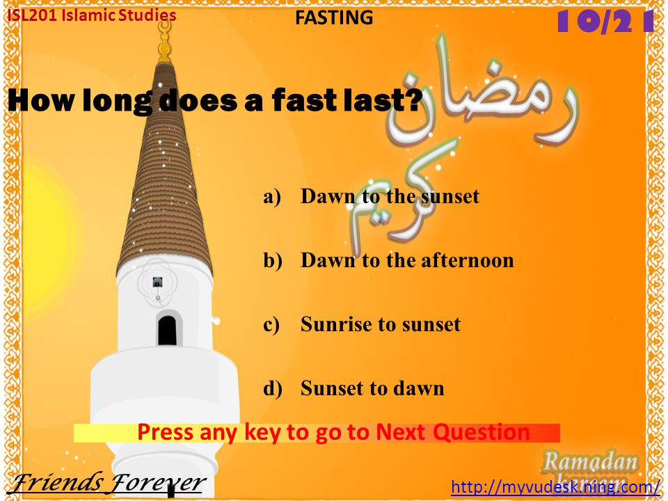 How long does a fast last