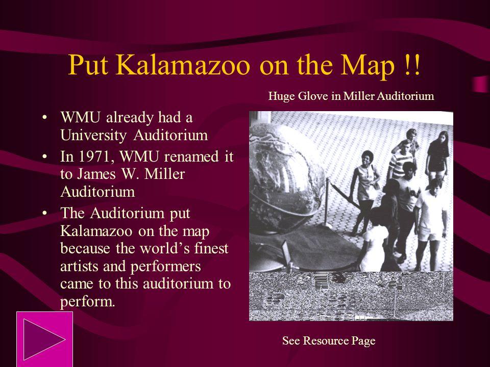Put Kalamazoo on the Map !!