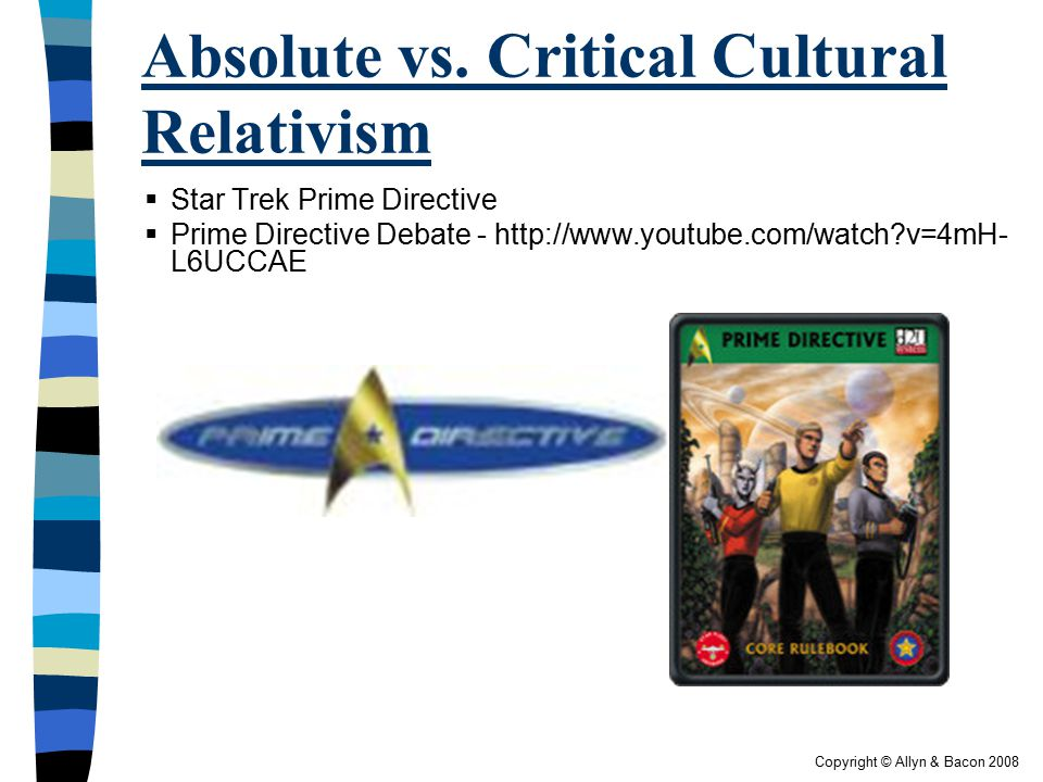 Absolute vs. Critical Cultural Relativism