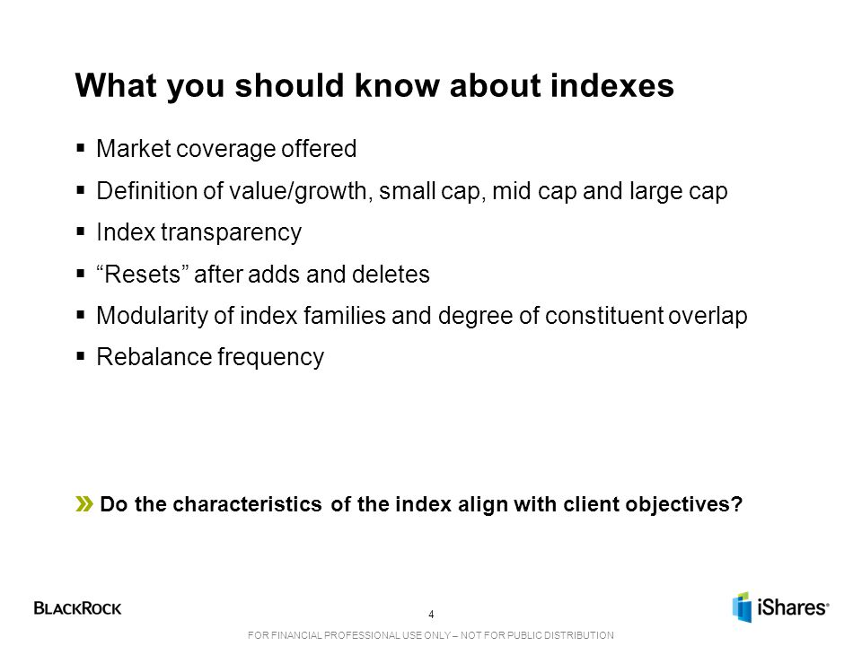 What you should know about indexes