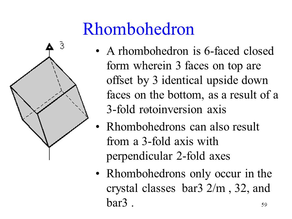 Rhombohedron