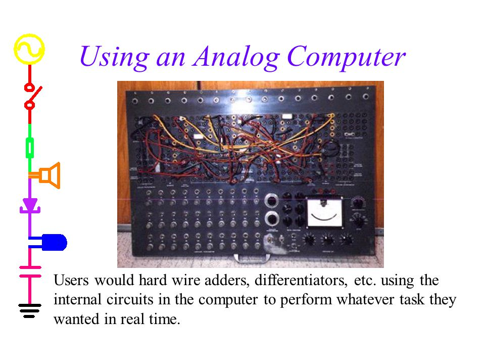 Using an Analog Computer