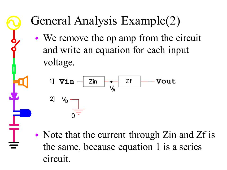 General Analysis Example(2)