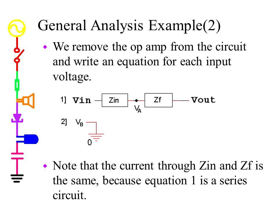 General Analysis Example(2)