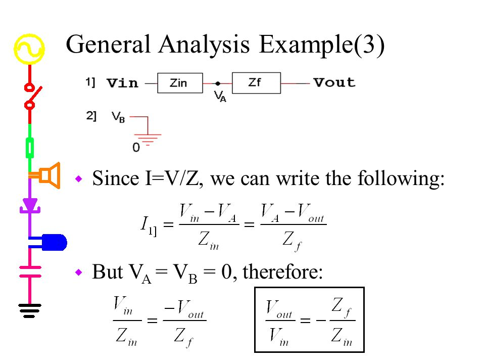 General Analysis Example(3)