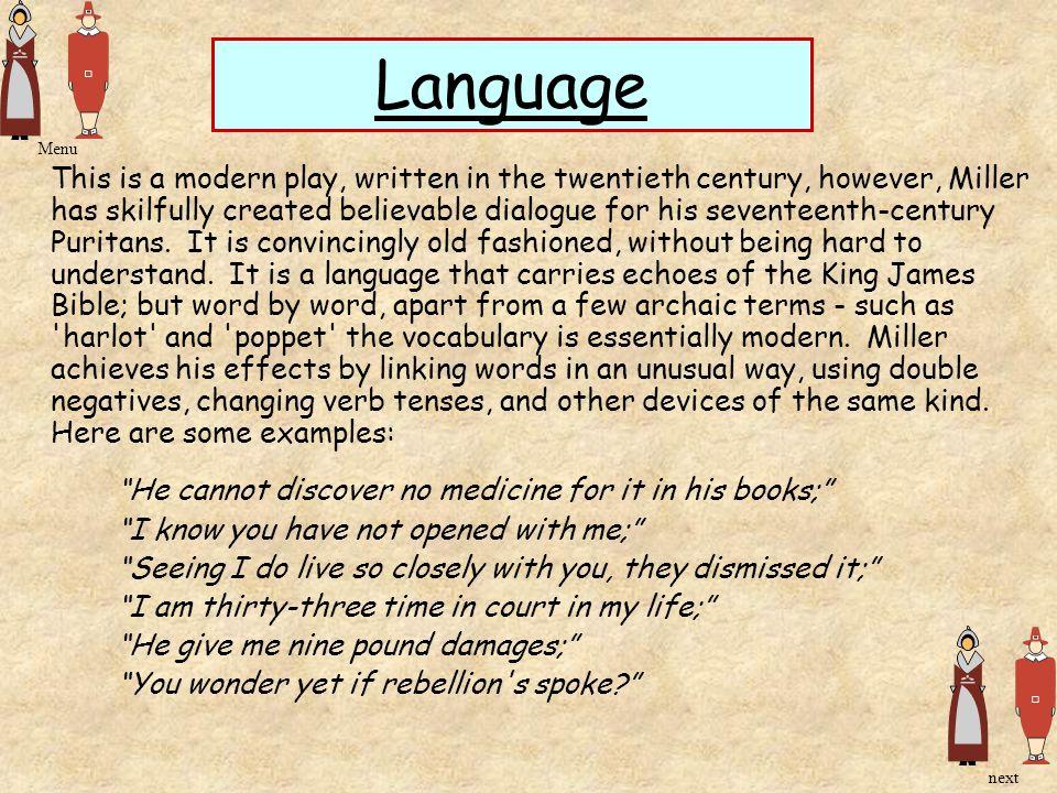Language Menu.
